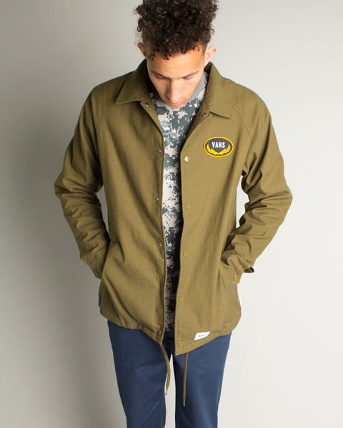WTAPS Torrey Jacket Dark Olive Vans Vault Mens Sneakers Seattle