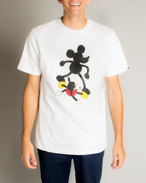 Disney Mickey 90th SS Tee Geoff McFetridge (White) 1