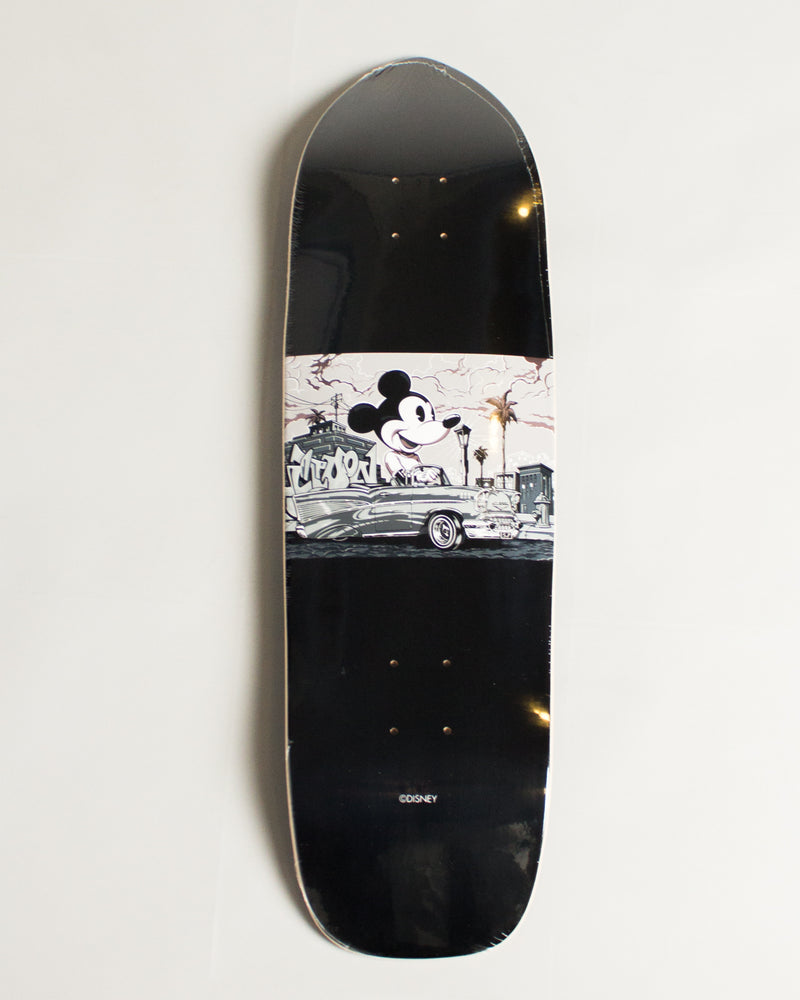 Disney Mickey 90th Skate Deck Mr. Cartoon