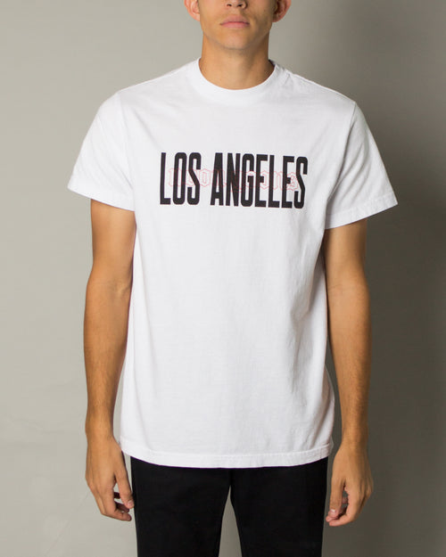 Los Angeles SS Tee White 1