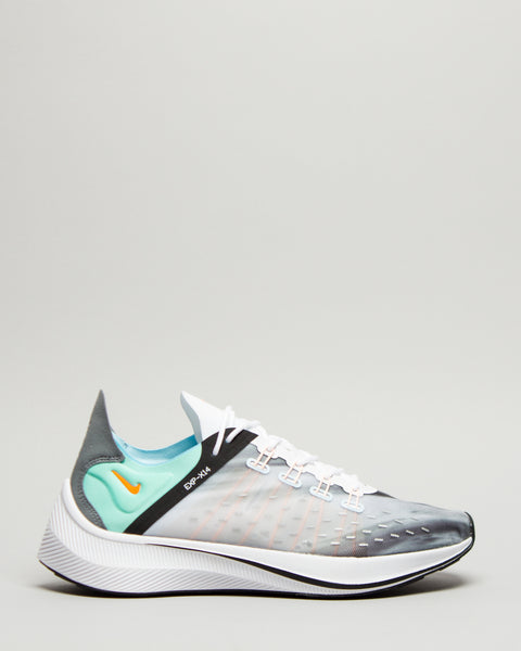 EXP-X14 QS White/Emerald Rise/Cone/Blue Chill Nike Mens Sneakers Seattle