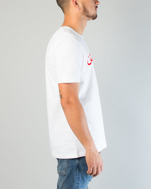 Dust Dashtan Tee White/Red 2