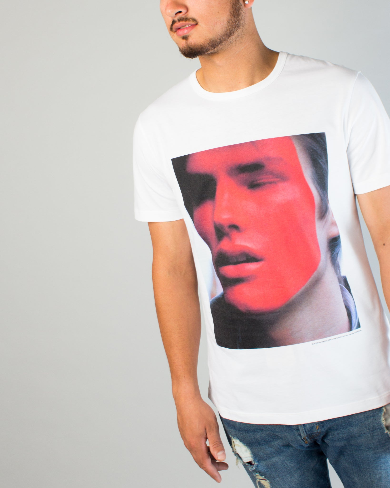 Brett Tee White/Black