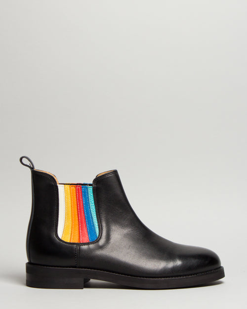 Side Gore Boots Rainbow 1