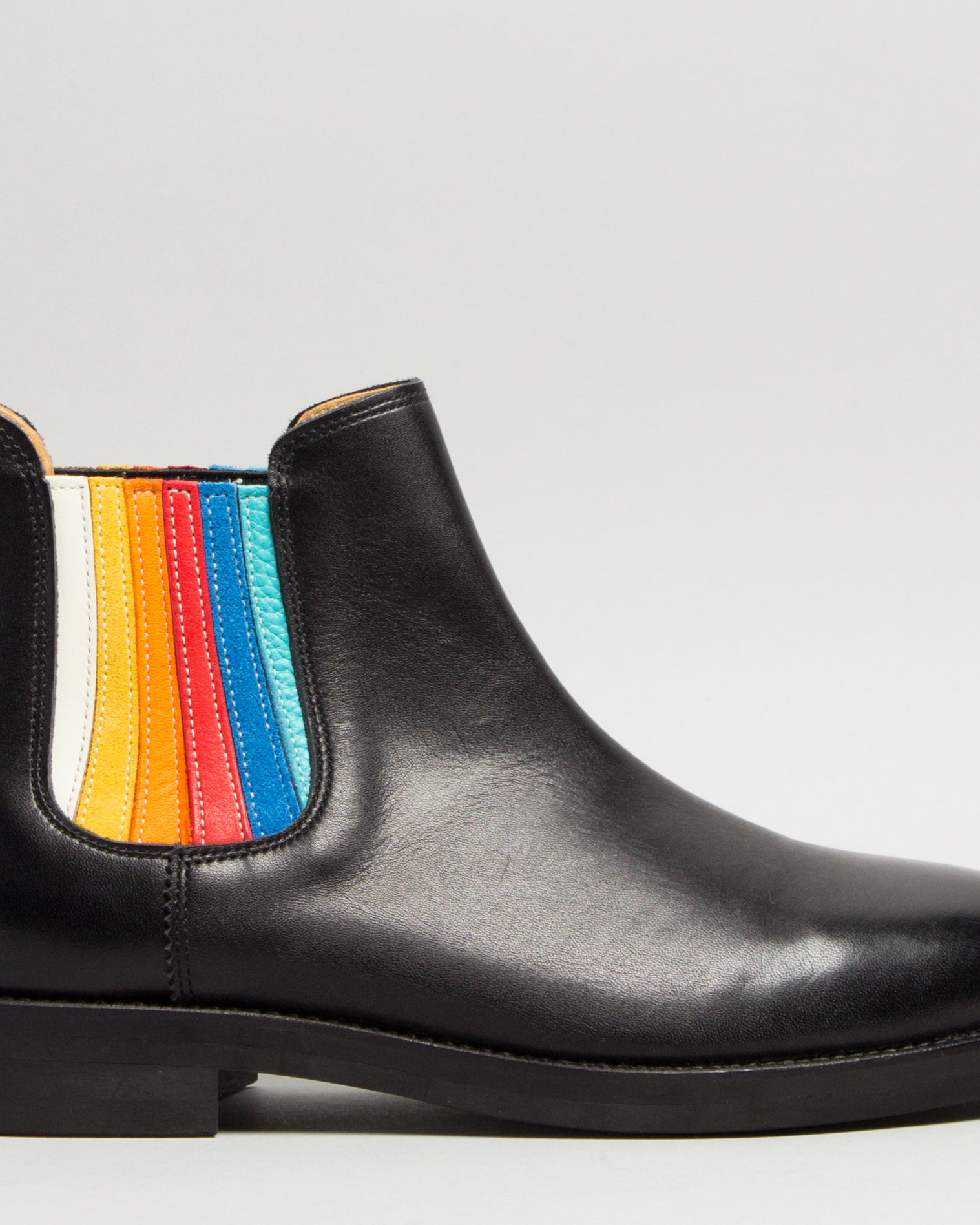 Side Gore Boots Rainbow