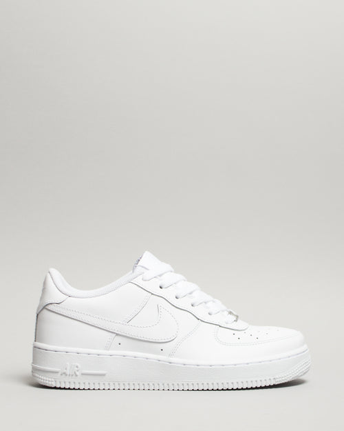Air Force 1 (GS) White/White/White 1