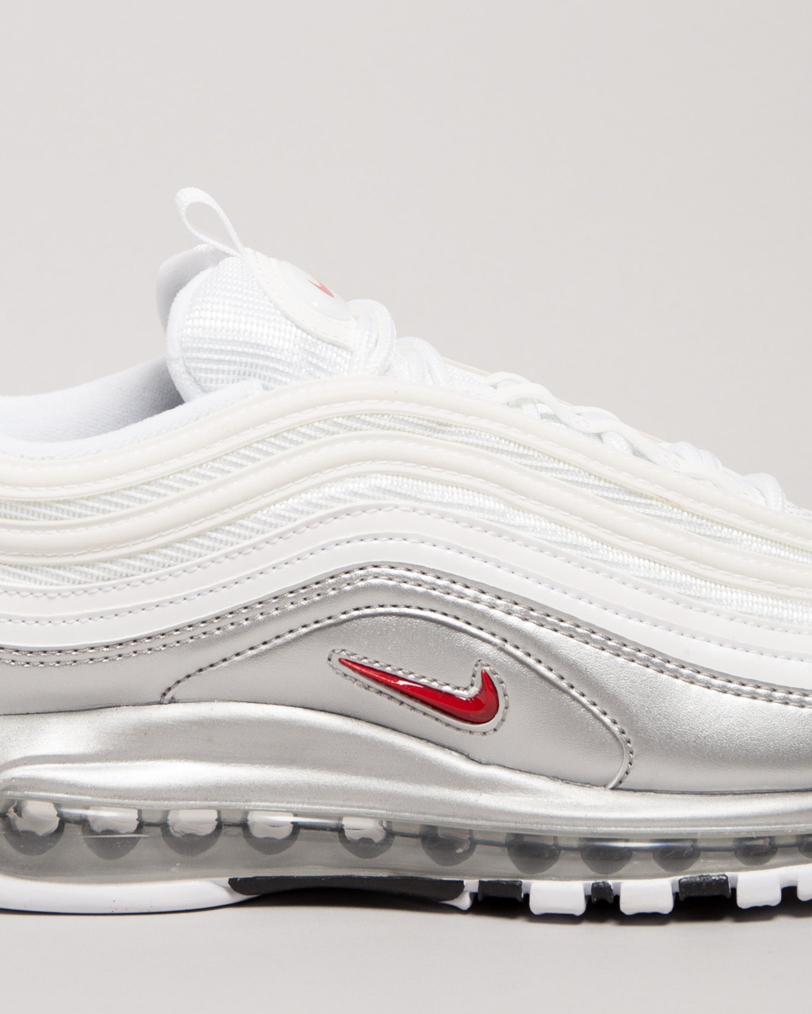 Air Max 97 QS White/Varsity Red/Metallic Silver