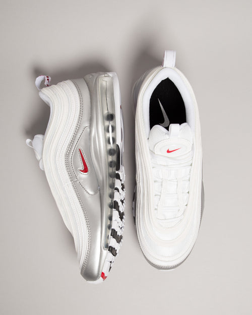 Air Max 97 QS White/Varsity Red/Metallic Silver 2