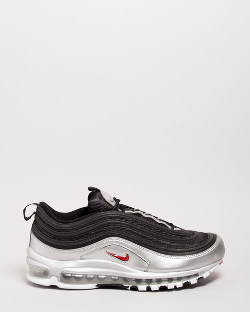 Air Max 97 QS Black/Varsity Red/Metallic Silver 1