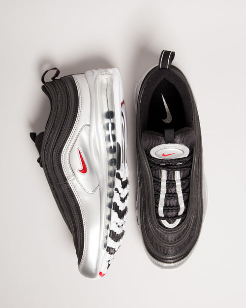 Air Max 97 QS Black/Varsity Red/Metallic Silver 2