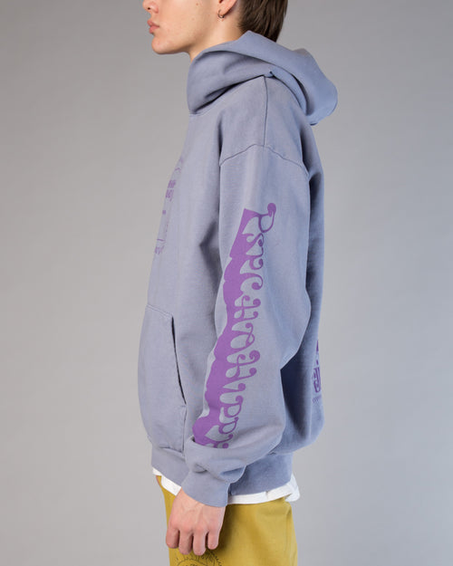 Psycho Hippie Hoodie Washed Blueberry 2