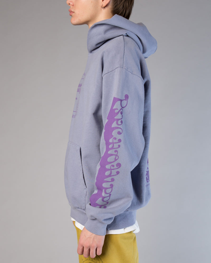 Psycho Hippie Hoodie Washed Blueberry