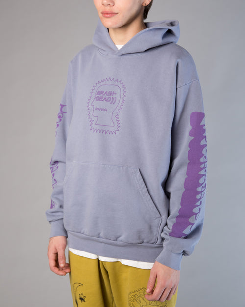 Psycho Hippie Hoodie Washed Blueberry 1