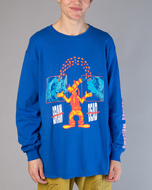 Human Being LS Tee Royal Blue 1