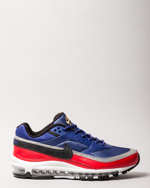 Air Max 97/BW Deep Royal Blue/Black/University Red 1
