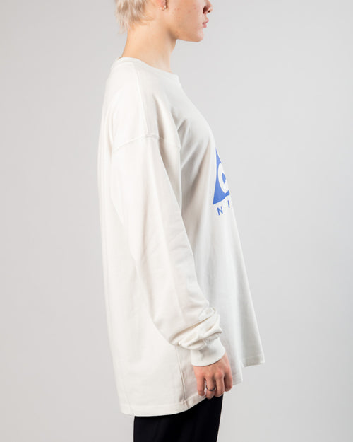 ACG LS Logo Tee Summit White/Racer Blue 2