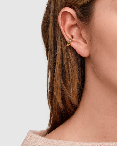 Ear Cuff Slim Gold 2