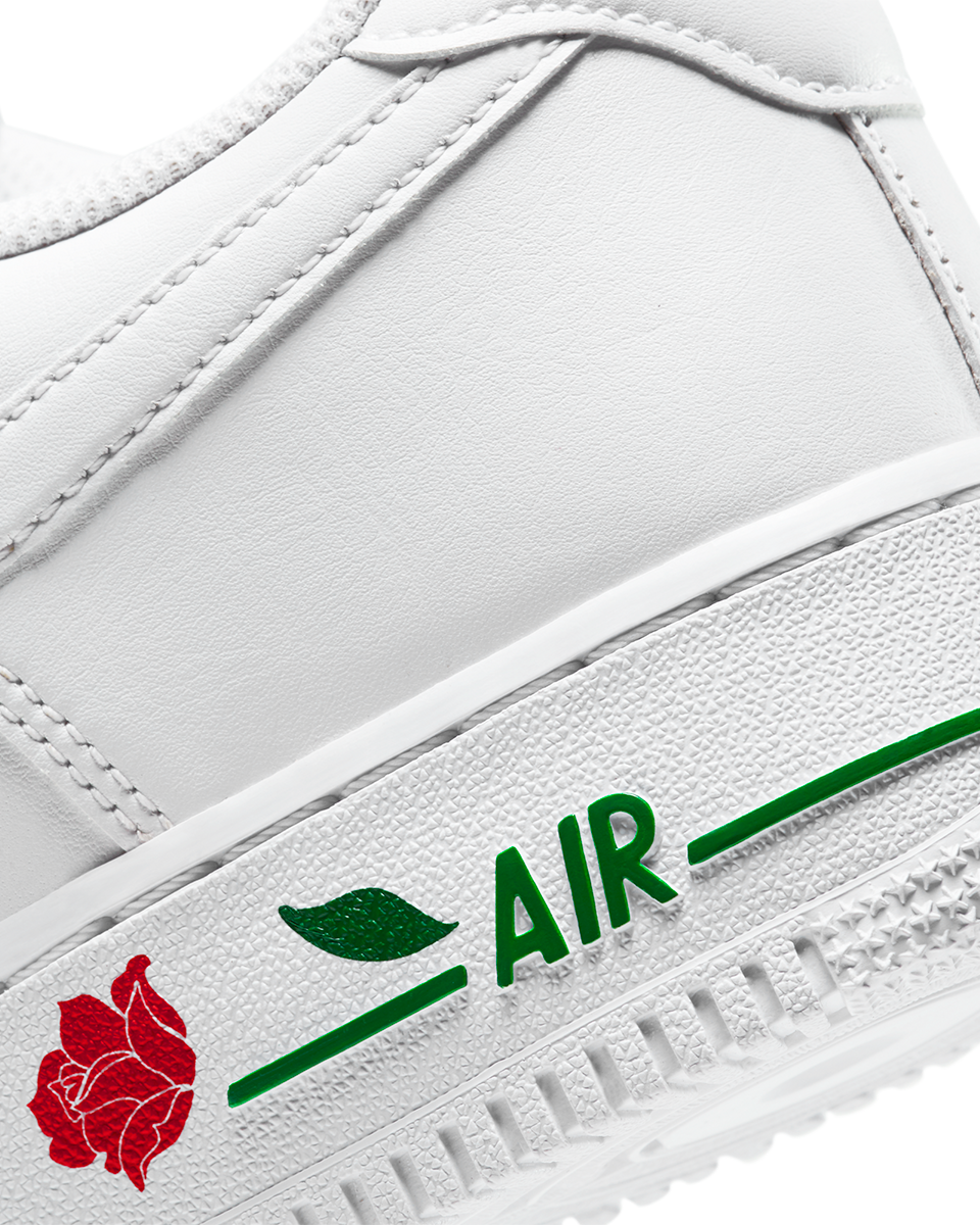 Air Force 1 '07 LX White/White/University Red