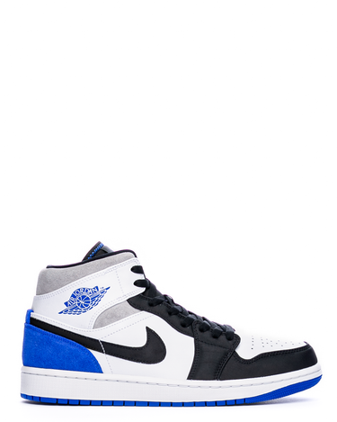 Air Jordan 1 Mid SE White/Hyper Royal/Black 1
