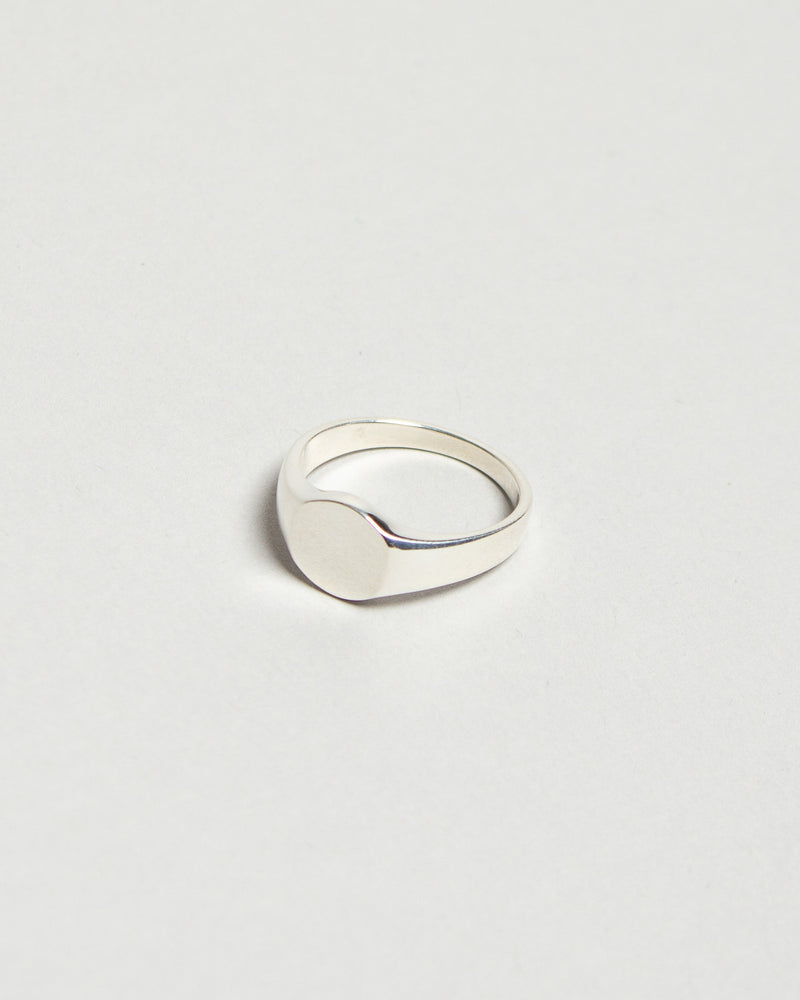 Signet Ring Oval No. 1 Silver