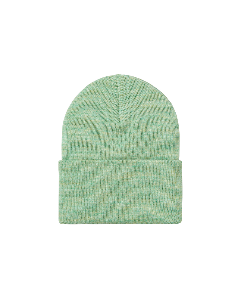 Acrylic Watch Hat Mineral Green Heather