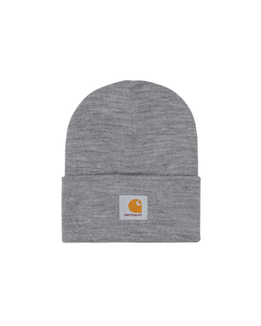 Acrylic Watch Hat Grey Heather 1