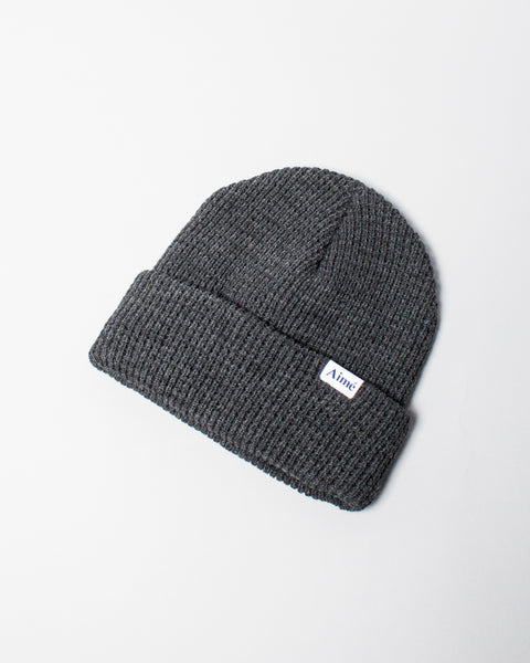 Waffle Beanie Charcoal Grey Aimé Leon Dore Mens Sneakers Seattle