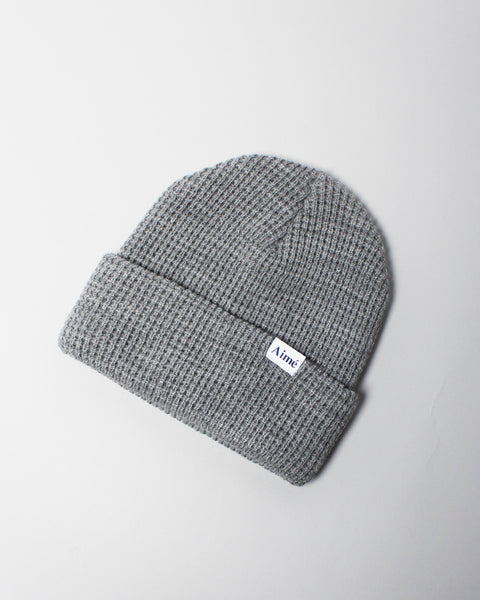 Waffle Beanie Heather Grey Aimé Leon Dore Mens Sneakers Seattle