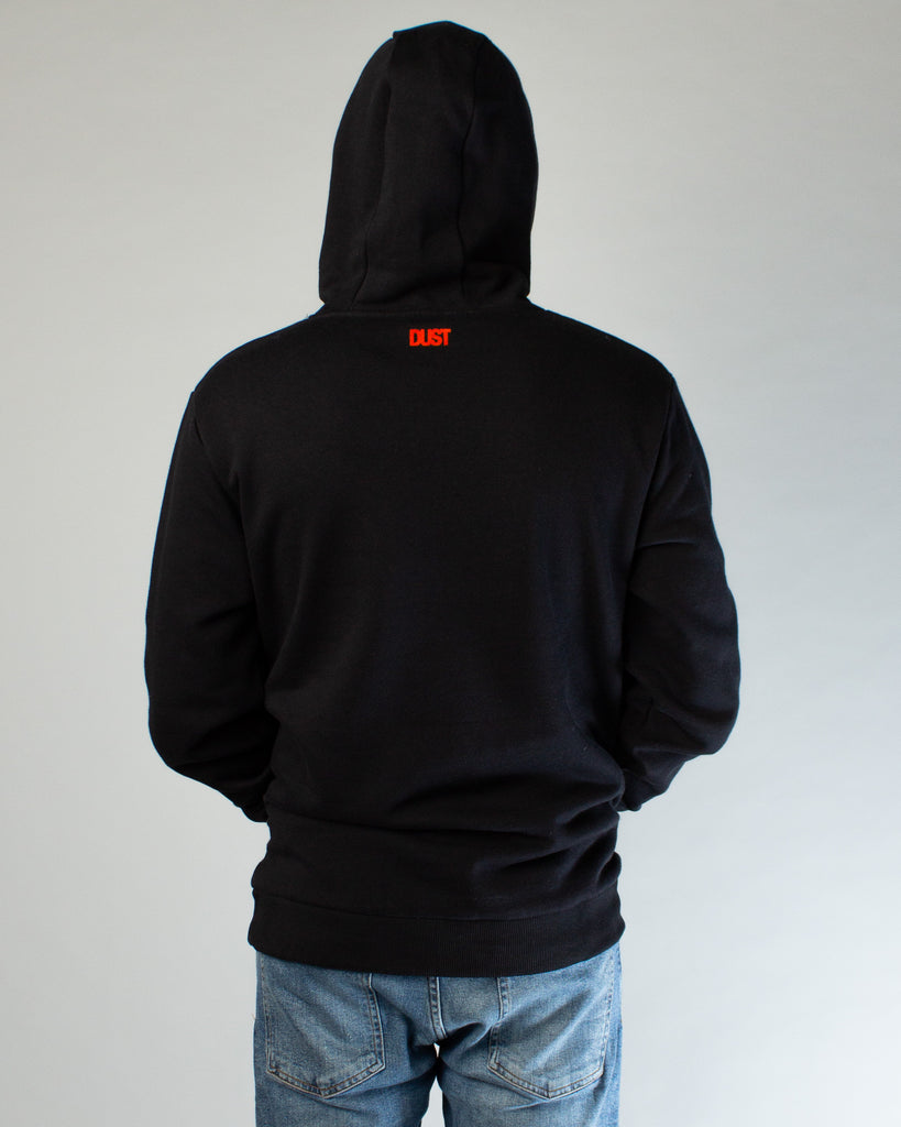 Lost Hoodie Black/Orange