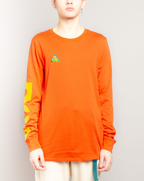 ACG NSW LS Tee Habanero Red/Bright Citron 1
