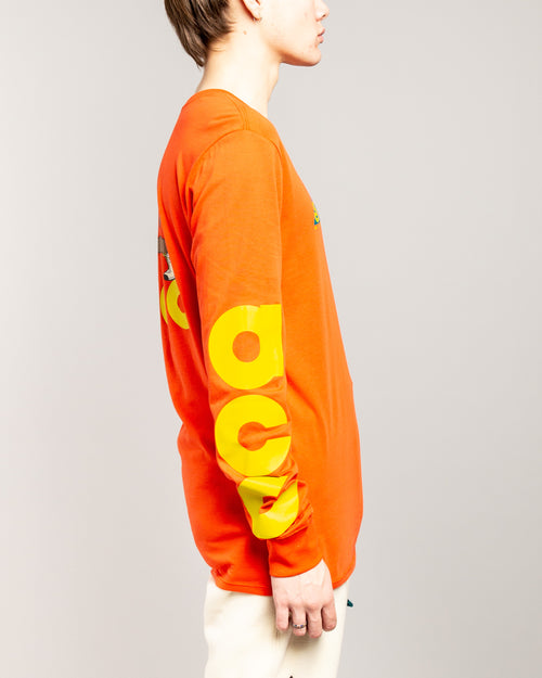 ACG NSW LS Tee Habanero Red/Bright Citron 2