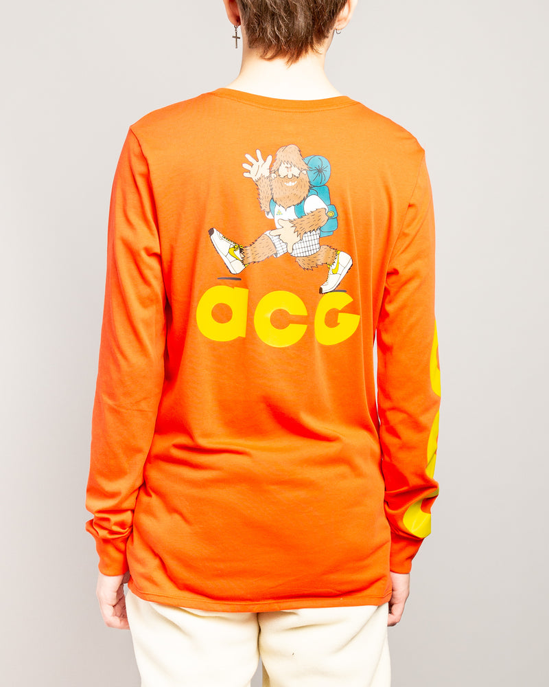 ACG NSW LS Tee Habanero Red/Bright Citron