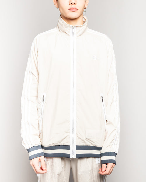 Bristol Studio Warm-Up Track Top Clear Brown 1