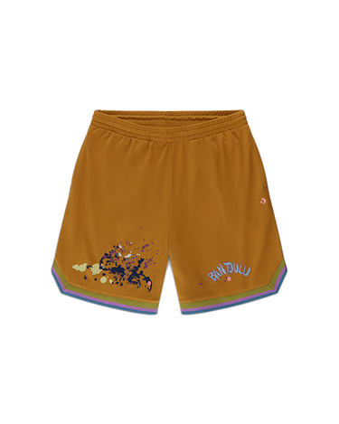 Bandulu BBall Shorts Wood Thrush 1