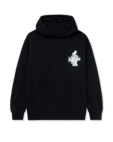 Acid Sun Ride Hooded Sweatshirt Black 1