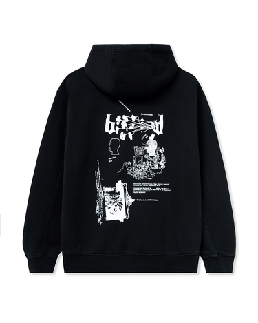 Acid Sun Ride Hooded Sweatshirt Black 2