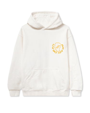 Folk Healing Hooded Sweatshirt White 1