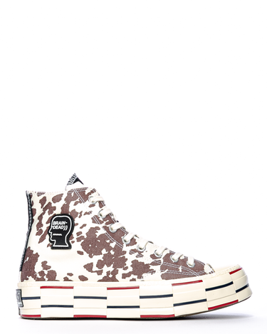 Brain Dead Chuck 70 HI Egret/Black/French Toast 1