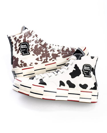 Brain Dead Chuck 70 HI Egret/Black/French Toast 2