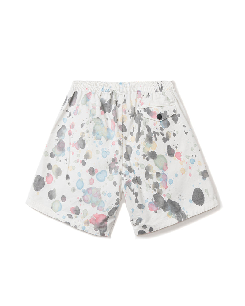 Beach Shorts Splatter Dye