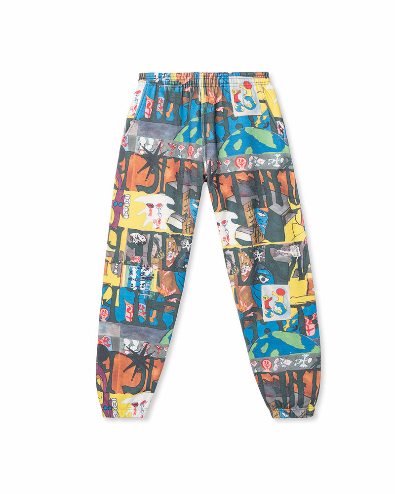 Leon Sadler All Over Print Sweatpant Multi