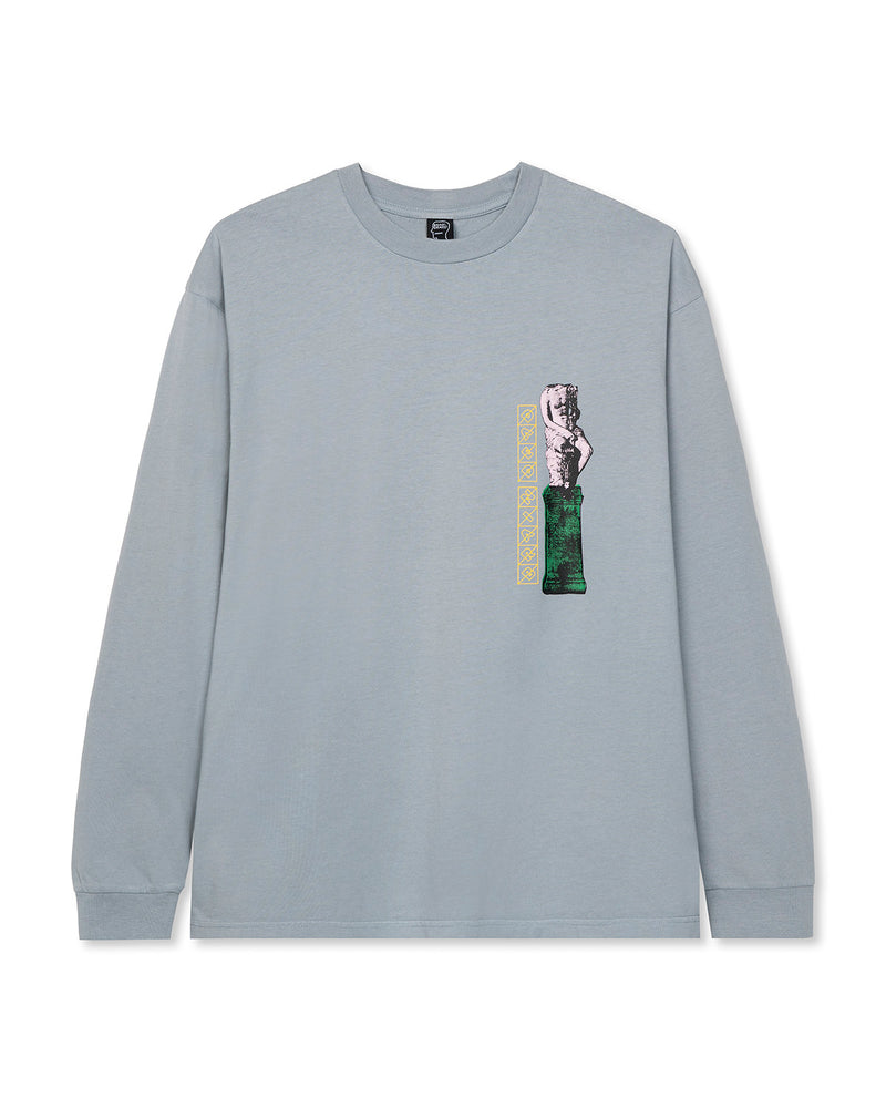 Off World Research Long Sleeve T-Shirt Blue