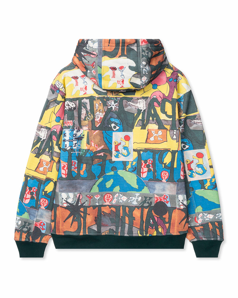 Leon Sadler All Over Print Sweatshirt Multi