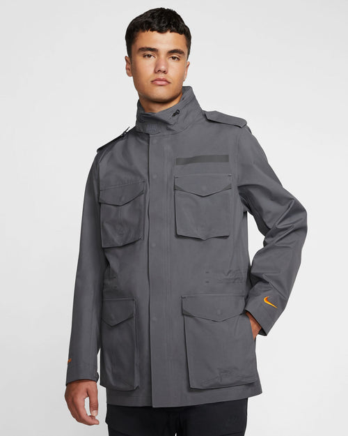 NRG GORE-TEX M65 Jacket Dark Grey/Black 1