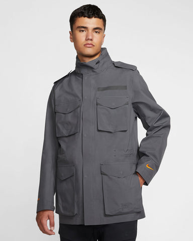 NRG GORE-TEX M65 Jacket Dark Grey/Black