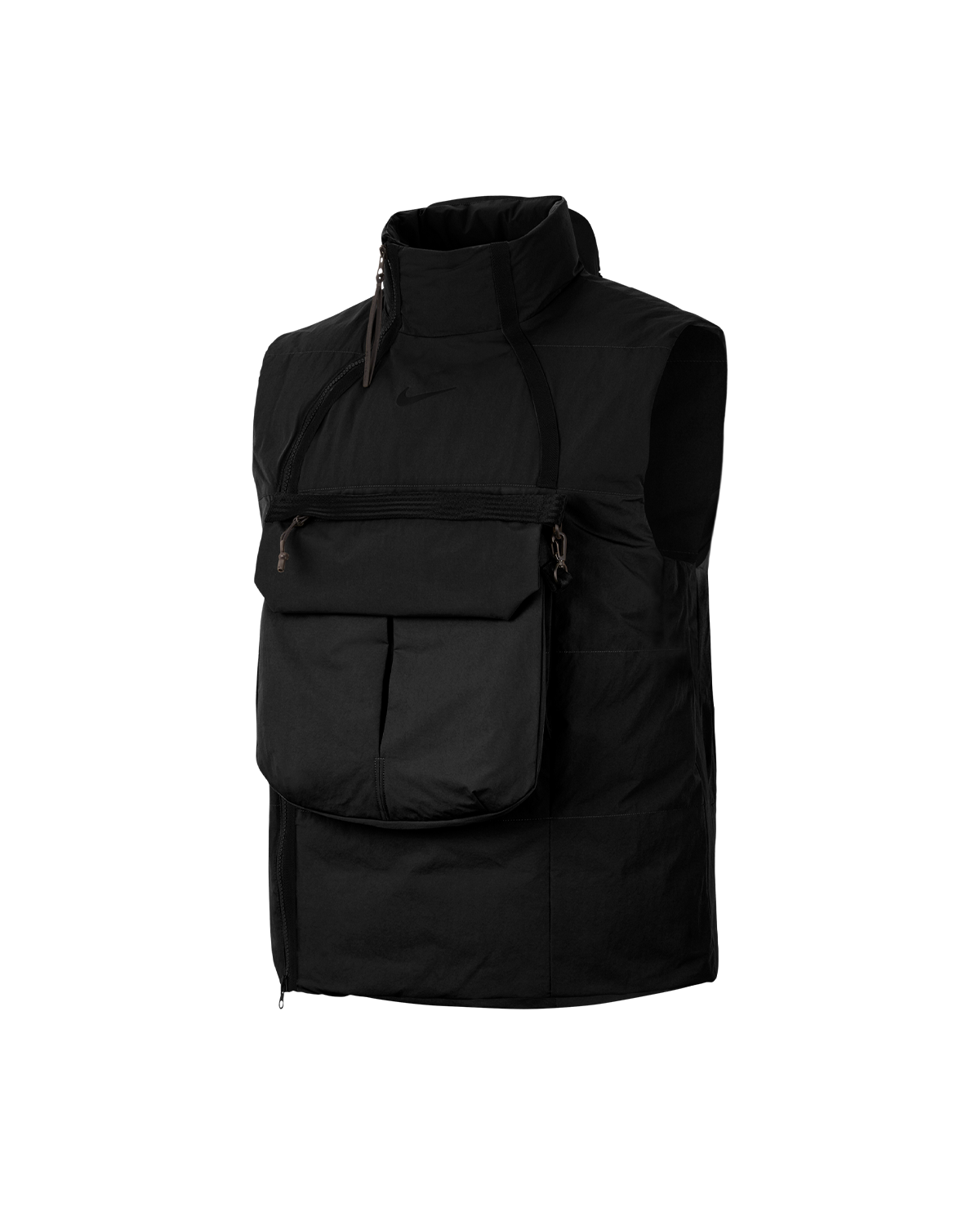 Sportswear Tech Pack Synthetic-Fill Vest Black/Black/Black
