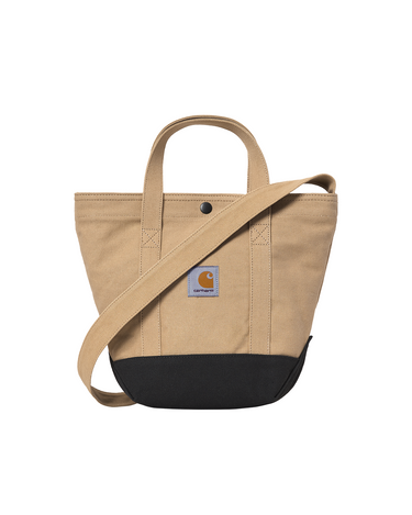 Canvas Small Tote Dusty Hamilton Brown 1