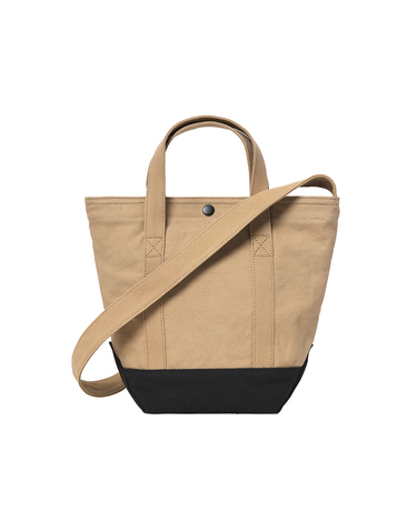 Canvas Small Tote Dusty Hamilton Brown 2
