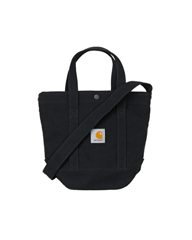 Canvas Small Tote Black 1