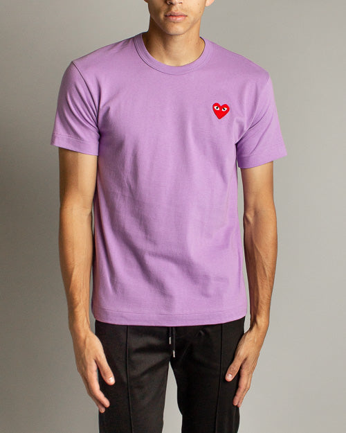 Color Series T-Shirt Red Heart (Purple)